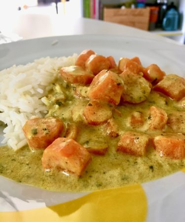 recette curry carottes marjo green